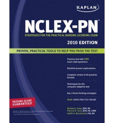 nclex pn prep 2018 practice test proven strategies kaplan test prep books kaplan nclex pn 2010