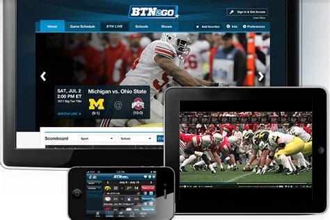 big ten network  stream