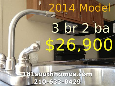 3 bedroom mobile home price san antonio manufactured homes new used mobile homes