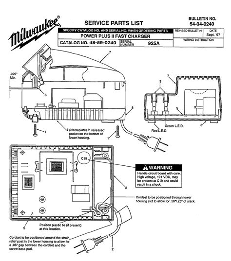 resetting milwaukee battery buy milwaukee 48 59 0240 925a power plus ii fast charger