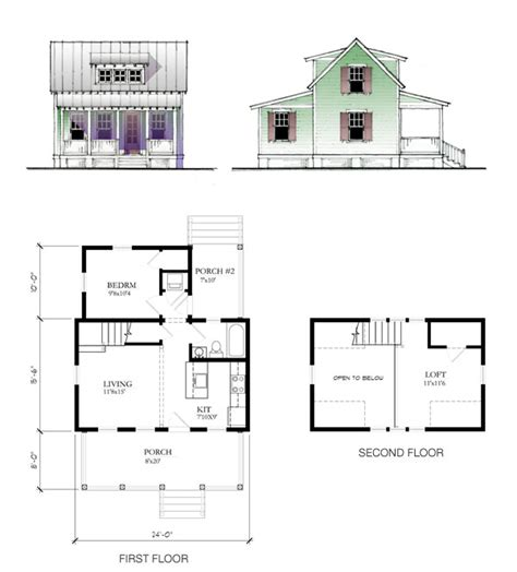 Lowes Building Plans | the katrina cottage model 697