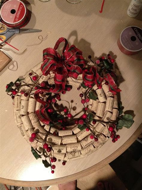wine cork wreath crafts for the home i am corks and wine