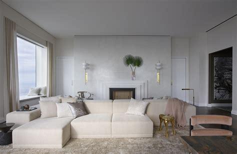 pretty in neutrals behun s midtown penthouse interior