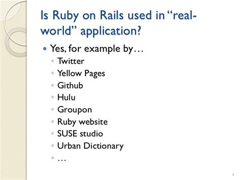 pattern meaning urban dictionary ruby on rails a brief introduction