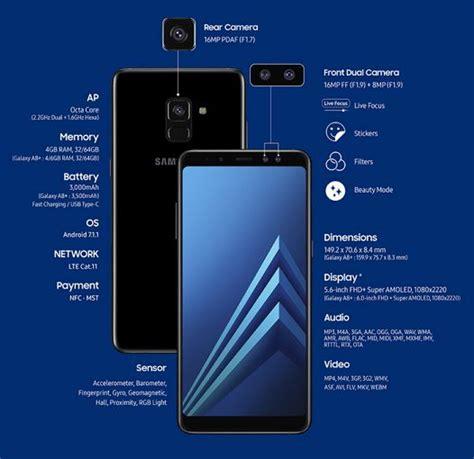 Harga Samsung A8 2018 Pekanbaru harga samsung galaxy a8 2018 review spesifikasi