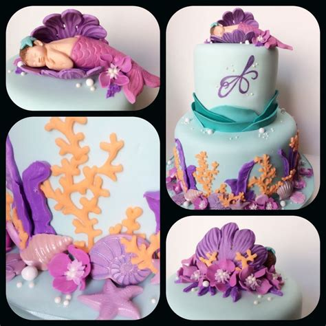 Mermaid Baby Shower Cake by 25 Best Ideas About Mermaid Baby Showers On