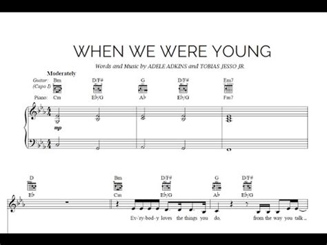 download mp3 adele when we are young when we were young adele sheet midi download youtube