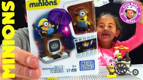 Mega Bloks Minions Silly Tv minions mega bloks sammelfiguren und spielset silly tv kinderkanal