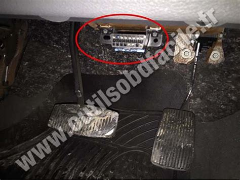 scan my port obd2 connector location in ford f150 2004 2008