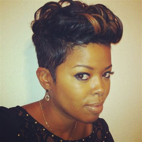 short hair styles worn by malinda williams hair crush monday malinda williams thehairazor live
