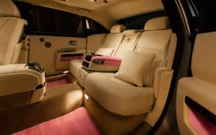 Roll Royce Ghost Interior Rolls Royce Ghost Ewb Breast Cancer Pink Interior 1 Photo 27