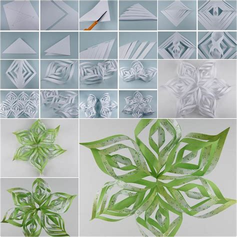 How To Make Pretty Paper Snowflakes - how to diy beautiful paper snowflake