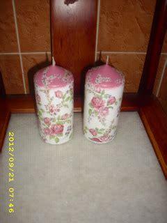 Lilin Teratai Kecil Sepasang salicottage lilin fry pan tong beras rak telur bekas roti pendek dan panjang bekas senduk