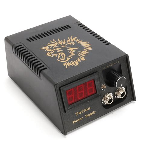 power supply tattoo lcd professional digital dual power supply for foot
