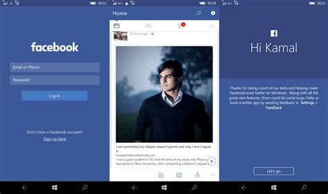 full version fb on mobile updated facebook for windows 10 mobile updated with new