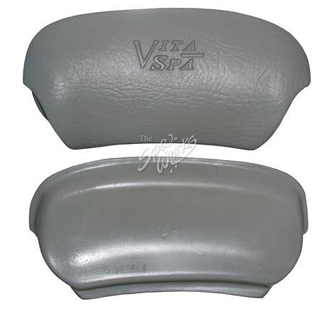 Vita Spa Pillows vita spa pillow sm99 with logo no cup gray the spa works
