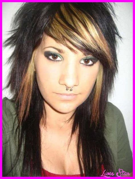 razor hairstyles long razored layered haircuts livesstar com