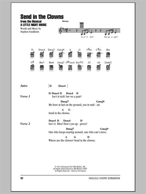 Send In The Clowns Sheet Music Direct