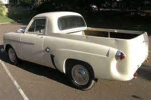 Vauxhall Ute Coupe Utility 1952 Vauxhall Velox Ute Bring A Trailer