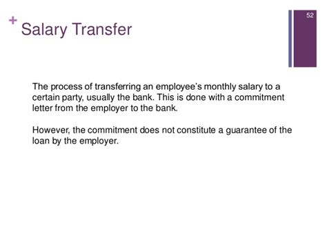 Salary Transfer Request Letter To Company Introduction To Consumer Lending