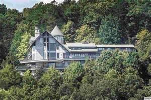 Crystal Waterfall Chandelier The Famous Gatlinburg Castle Luxury Portfolio