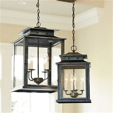 outdoor kitchen lighting fixtures choosing a hanging lantern pendant for the kitchen