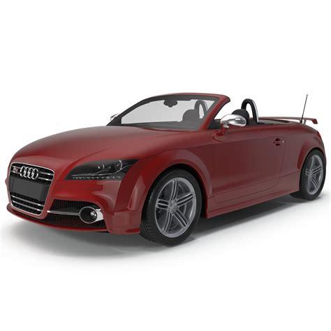 Audi Tts Convertible by 3d Model Audi Tts Convertible 2015