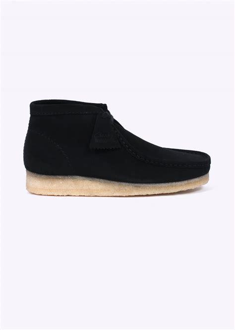 wallabee boots clarks originals wallabee boot black triads