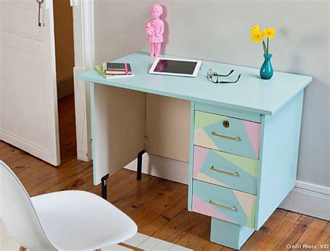 customiser un bureau redonner vie 224 un bureau avec des couleurs pastels