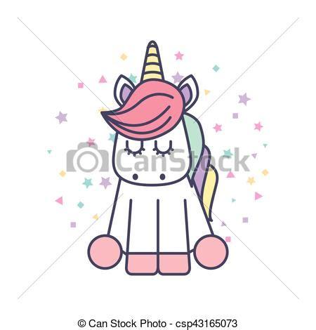 imagenes de unicornios bebes lindo unicornio dibujo icono lindo ilustraci 243 n