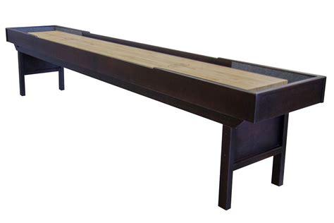 12 Foot Shuffleboard Table by 12 Foot Liberty Shuffleboard Table Mcclure Tables