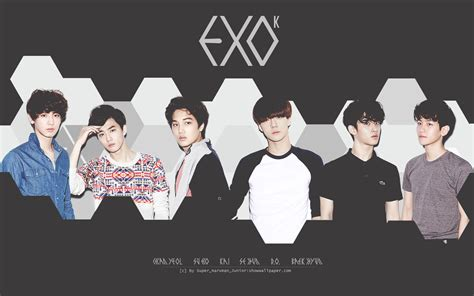 exo wallpaper with name exo k wallpaper by super naruman junior