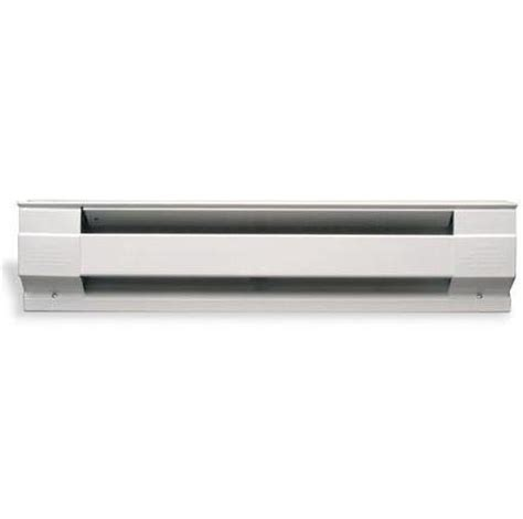 10 ft electric baseboard heater cadet 10f2500w baseboard heater 10 ft 2500w 240208v