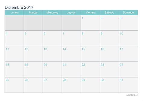 Calendario Mes A Mes 2017 Calendario 2017 Mes A Mes Calendar Template 2016