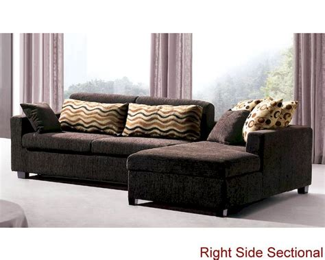 sectional sofa set with sleeper sofa and storage chaise