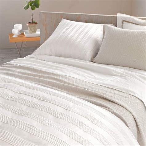 white pintuck comforter district17 mod pintuck white duvet cover duvet covers
