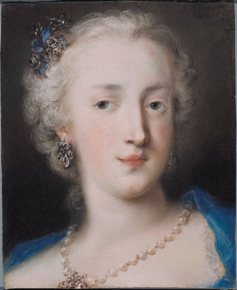 carriera in file rosalba carriera portrait of a