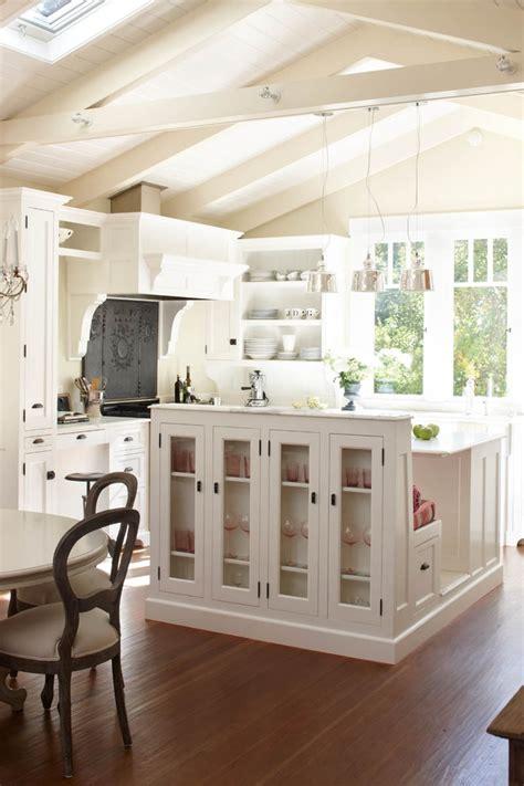white kitchen bench white kitchen island with bench kitchen pinterest