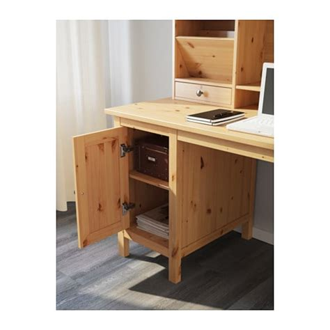 desk add on unit hemnes desk with add on unit light brown 155x137 cm ikea