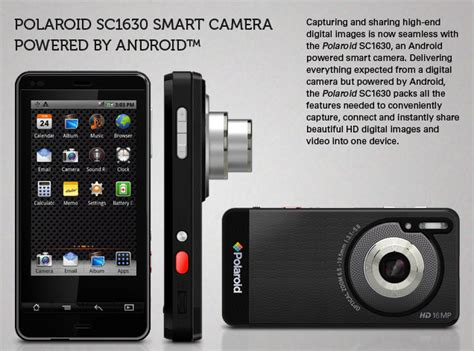 Polaroid Swing Android Update On Ces 2012 Polaroid Takes The