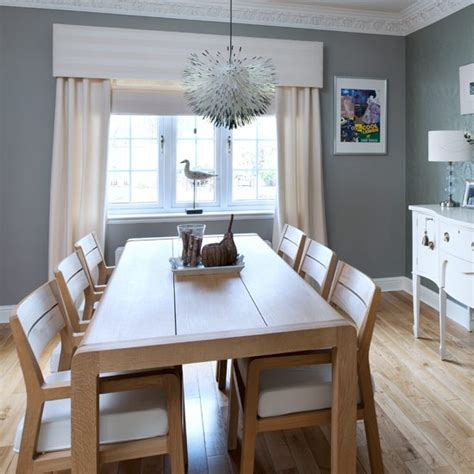 dining room real homes  england seaside inspired