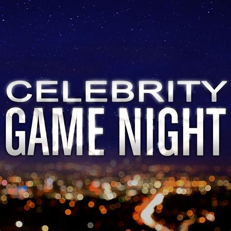 what is the celebrity game celebrity game night cgnmega twitter