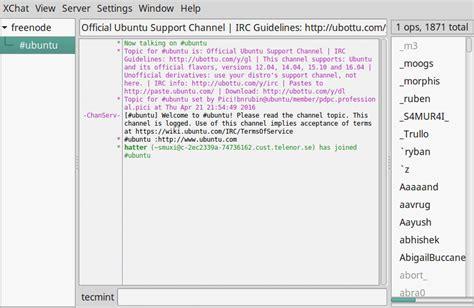 best irc client 7 best irc clients for linux