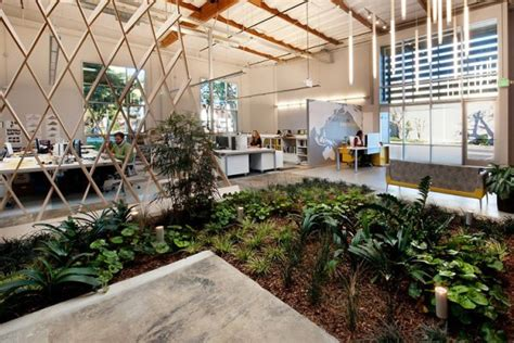 office indoor design an office with a garden thecoolist the modern design