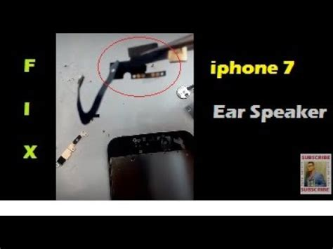 iphone 7 7 plus ear speaker front replacement