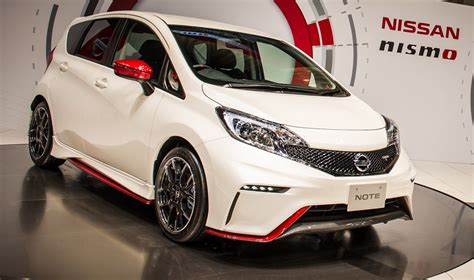 nissan versa note nismo completely nismo model set to debut at chicago auto