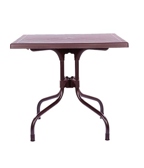 Supreme Olive Foldable Dining Table Globus Brown Buy Supreme Dining Table