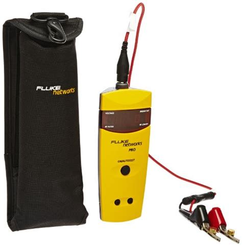 Bt Finder Fluke Networks Ts100 Pro Bt Tdr Cable Fault Finder Tdr Kit With Bridge Tap Detect In