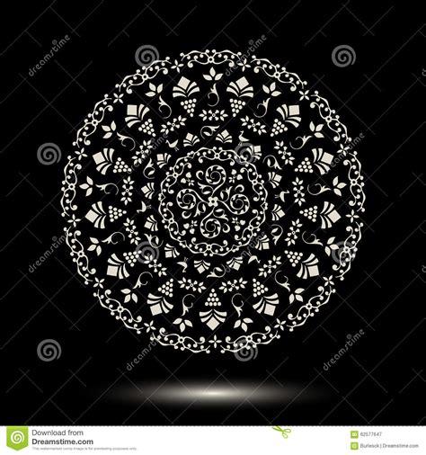 tribal pattern mandala round tribal ornament pattern mandala stock vector image