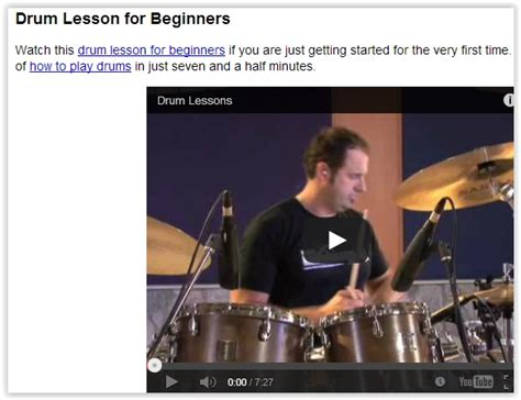 drum tutorial com 5 free websites to learn to play drums online